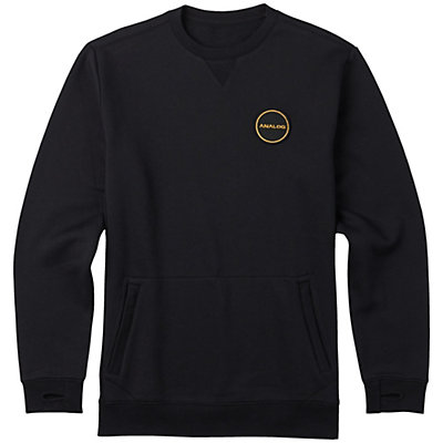 Burton Analog Enclave Crew Sweatshirt, True Black, viewer