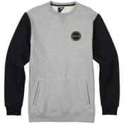 Burton Analog Enclave Crew Sweatshirt, Gray Heather, medium