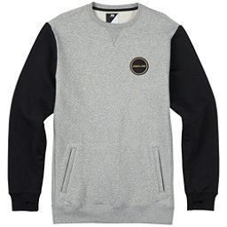 Burton Analog Enclave Crew Sweatshirt, Gray Heather, 256