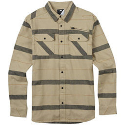 Burton Analog Transmission Mens Flannel Shirt, Putty, 256
