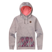 Burton Heron Pullover Womens Hoodie, Canvas Heather, medium