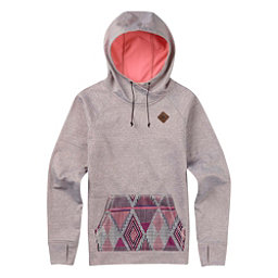 Burton Heron Pullover Womens Hoodie, Canvas Heather, 256
