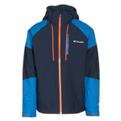 Columbia Gitback Mens Insulated Ski Jacket, Collegiate Navy-Super Blue, medium