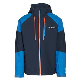 Columbia Gitback Mens Insulated Ski Jacket, Collegiate Navy-Super Blue, 256