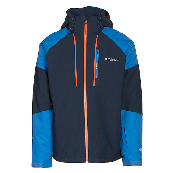 Columbia Gitback Mens Insulated Ski Jacket, Collegiate Navy-Super Blue, 600