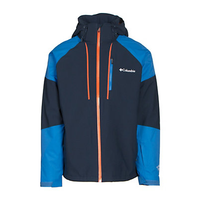 Columbia Gitback Mens Insulated Ski Jacket, Deep Water, viewer