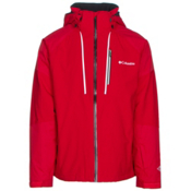Columbia Gitback Mens Insulated Ski Jacket, Mountain Red, medium