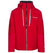 Columbia Gitback Mens Insulated Ski Jacket, Mountain Red, medium