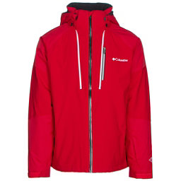 Columbia Gitback Mens Insulated Ski Jacket, Mountain Red, 256