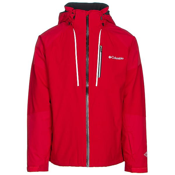 Columbia Gitback Mens Insulated Ski Jacket, Mountain Red, 600