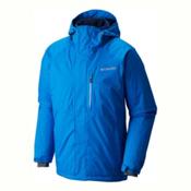 Columbia Alpine Action Big Mens Insulated Ski Jacket, Super Blue, medium