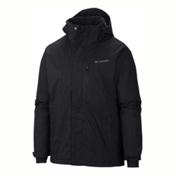 Columbia Alpine Action Big Mens Insulated Ski Jacket, Black, medium
