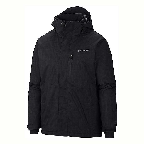Columbia Alpine Action Big Mens Insulated Ski Jacket, Black, 600