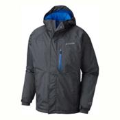 Columbia Alpine Action Big Mens Insulated Ski Jacket, Graphite-Super Blue, medium