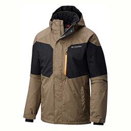 Columbia Alpine Action Big Mens Insulated Ski Jacket, Sage-Black, 256