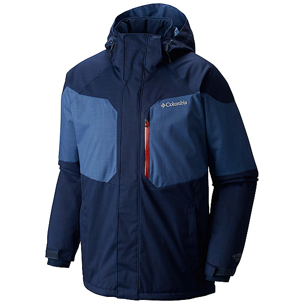 Columbia Alpine Action Tall Mens Insulated Ski Jacket, Collegiate Navy-Night Tide, 600