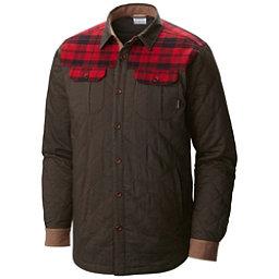 Columbia Kline Falls Shirt Mens Jacket, Buffalo-Mountain Red Plaid, 256