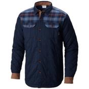 Columbia Kline Falls Shirt Jacket, Collegiate Navy-Collegiate Nav, medium