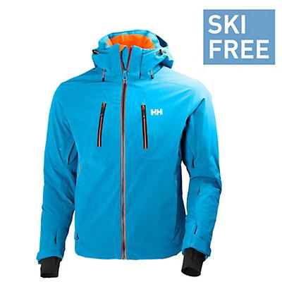 Helly Hansen Alpha 2.0 Mens Insulated Ski Jacket, Winter Aqua, viewer