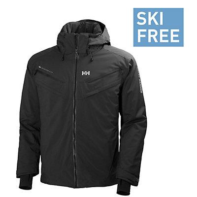 Helly Hansen Blazing Mens Insulated Ski Jacket, Evening Blue, viewer