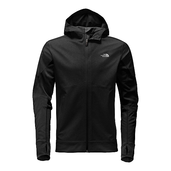 The North Face Kilowatt Mens Jacket, TNF Dark Grey Heather-TNF Blac, 600