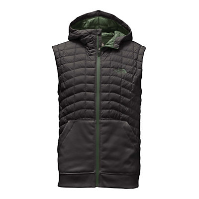 The North Face Kilowatt ThermoBall Mens Vest, Asphalt Grey-Duck Green, viewer