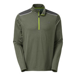 The North Face Kilowatt 1/4 Zip Mens Shirt, Climbing Ivy Green Heather, 256