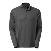 The North Face Kilowatt 1/4 Zip Mens Shirt, TNF Dark Grey Heather, medium