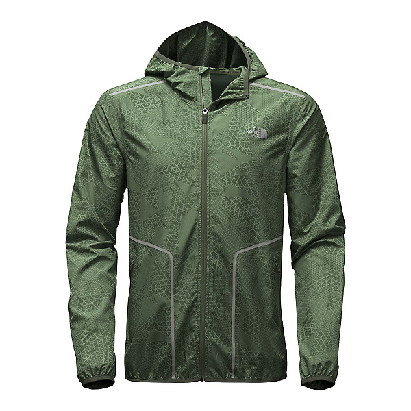 The North Face Ampere Wind Trainer Mens Jacket, Climbing Ivy Green, 600