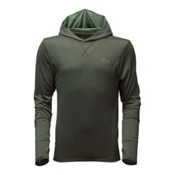 The North Face Reactor Mens Hoodie, Climbing Ivy Green Heather, medium