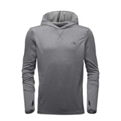 The North Face Reactor Mens Hoodie, TNF Medium Grey Heather-Vaporo, medium