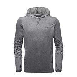 The North Face Reactor Mens Hoodie, TNF Medium Grey Heather-Vaporo, 256