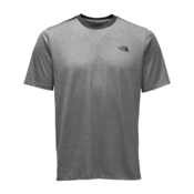 The North Face Reactor S/S Crew Mens T-Shirt, TNF Medium Grey Heather, medium