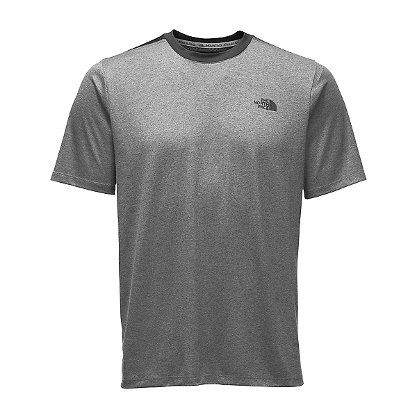 The North Face Reactor S/S Crew Mens T-Shirt, TNF Medium Grey Heather, 600