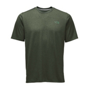 The North Face Reactor S/S Crew Mens T-Shirt, Climbing Ivy Green Heather, medium