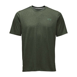The North Face Reactor S/S Crew Mens T-Shirt, Climbing Ivy Green Heather, 256
