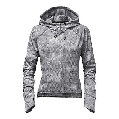 The North Face Motivation Womens Hoodie, Asphalt Grey Jacquard, viewer