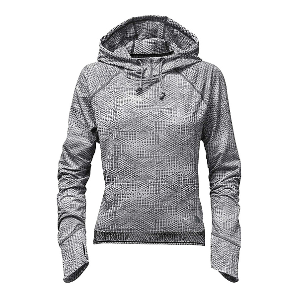 The North Face Motivation Womens Hoodie, Asphalt Grey Jacquard, 600