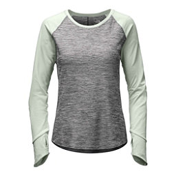 The North Face Motivation L/S Womens Shirt, TNF Medium Grey Heather-Subtle, 256