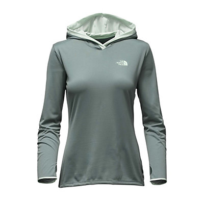 The North Face Reactor Womens Hoodie, Balsam Green-Subtle Green, viewer
