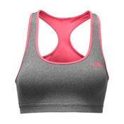 The North Face Bounce-B-Gone Womens Sports Bra, TNF Medium Grey Heather-Calyps, medium