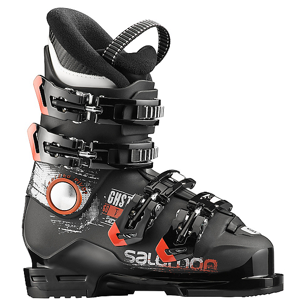 Salomon Ghost 60 T Kids Ski Boots 2017, Black-Black, 600