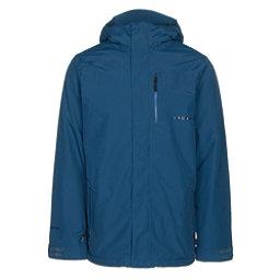 Volcom L GORE-TEX Mens Insulated Snowboard Jacket, Blue Black, 256