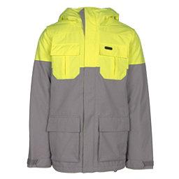 Volcom Alternate Mens Insulated Snowboard Jacket, Grey, 256