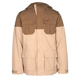 Volcom Alternate Mens Insulated Snowboard Jacket, Khaki, 256