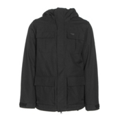 Volcom Alternate Mens Insulated Snowboard Jacket, Black, medium
