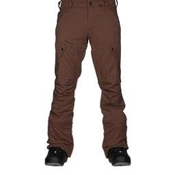 Volcom Articulated Mens Snowboard Pants, Teak, 256