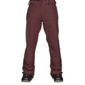 Volcom Freakin Snow Chino Mens Snowboard Pants, Burgundy, medium