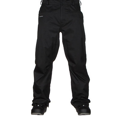 Volcom Carbon Mens Snowboard Pants, Black, viewer