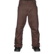 Volcom Carbon Mens Snowboard Pants, Teak, medium